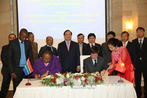 越南与南非加强科学技术合作 hinh anh 1