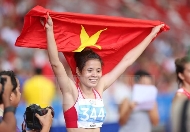 2015年胡志明市国际田径公开赛落幕越南代表团居奖牌榜榜首 hinh anh 1