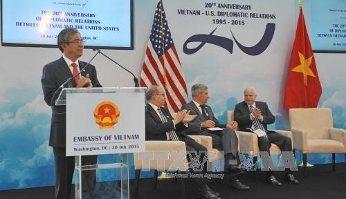 越南驻美国大使范光荣:越美将继续深化两国全面伙伴关系 hinh anh 1