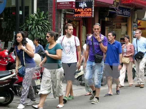赴越南观光旅游的国际游客量呈回升趋势 hinh anh 1