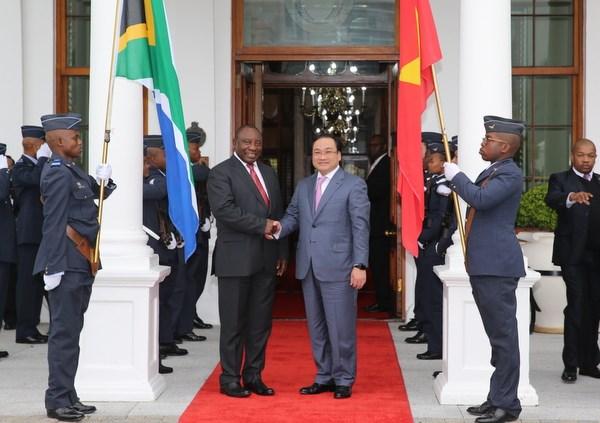进一步加强越南与南非加强各领域的合作关系 hinh anh 1