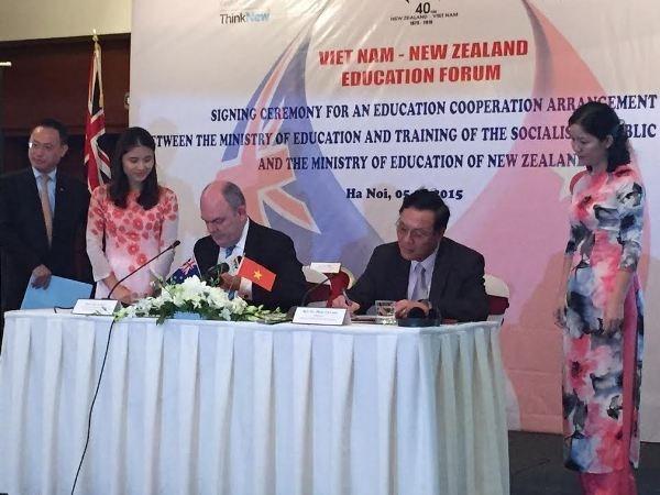 越南与新西兰加强教育合作 hinh anh 1