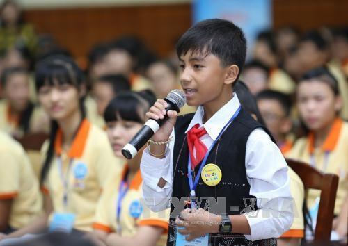2015年第四次国家儿童论坛开幕 hinh anh 1