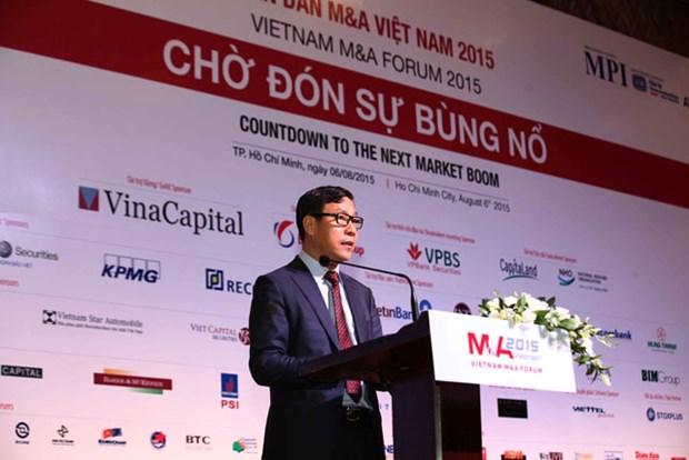 2015年越南并购市场即将迎来新浪潮 hinh anh 1