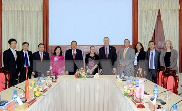 越南最高人民法院与美国联邦最高法院加强合作 hinh anh 1