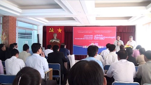 越南协助老挝记者队伍提高业务能力 hinh anh 1