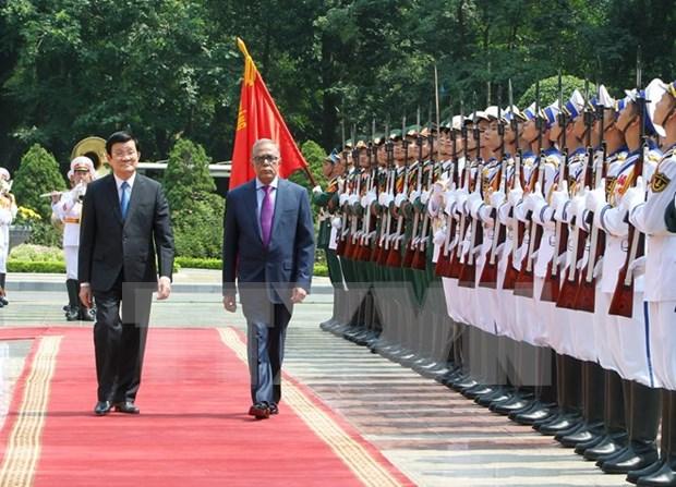 越南与孟加拉发表联合声明 同意进一步深化各领域合作 hinh anh 1