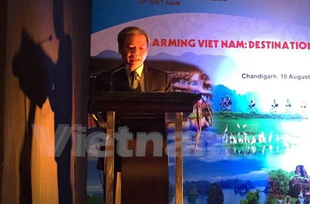 越南旅游晚会在印度北部地区举行 hinh anh 1