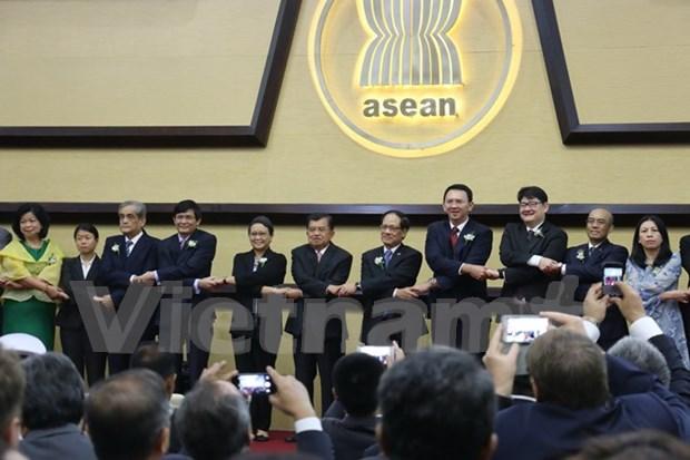 东盟成立48年纪念活动在雅加达举行 hinh anh 1