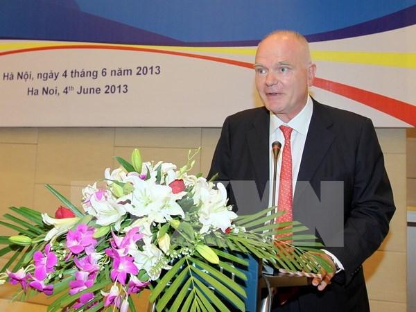 越南与欧盟自由贸易协定有助于扩大双方企业的合作 hinh anh 1
