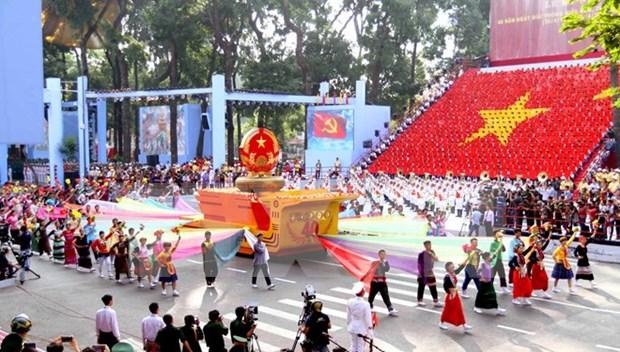3万人将参加越南九·二国庆节阅兵游行活动 hinh anh 1