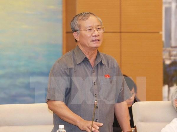 越南国会常委会向《国会和人民议会监督活动法(草案)》提供意见 hinh anh 1
