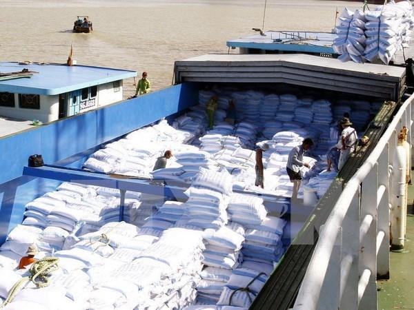 2015年前7个月越南大米出口量为330万吨 hinh anh 1
