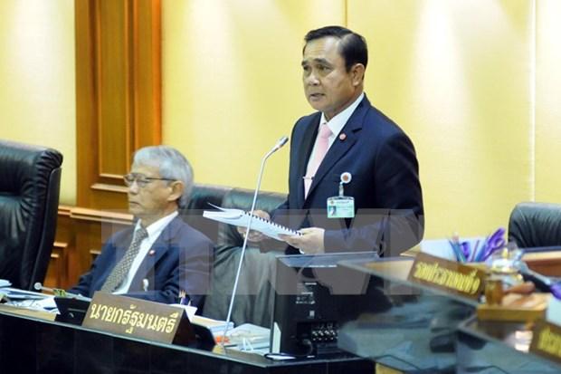 泰总理称内阁名单调整完毕 hinh anh 1