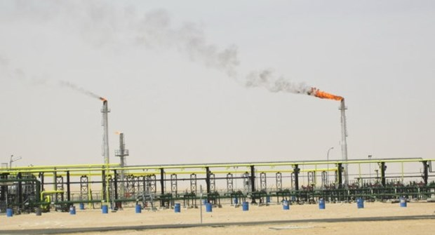 越南国家油气集团在阿尔及利亚正式开采出首批原油 hinh anh 1