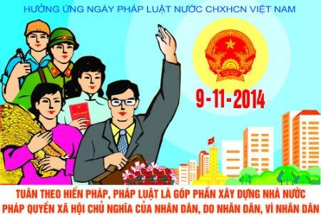 响应2015年法律日系列活动将于10月和11月陆续举行 hinh anh 1