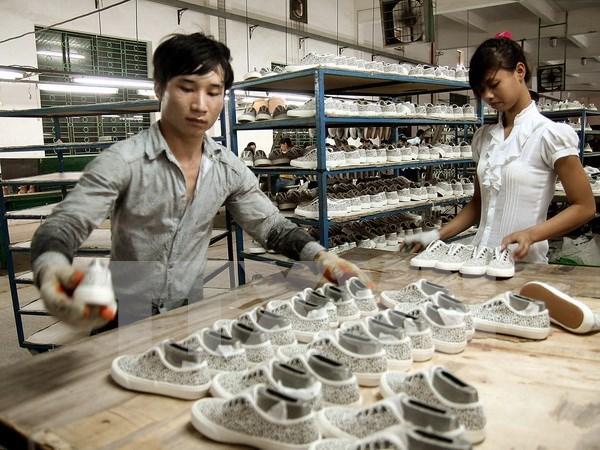 越南努力提高工会在制衣厂和制鞋厂的活动效益 hinh anh 1