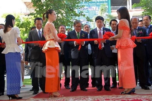 由越南援建的柬埔寨广播电台落成 hinh anh 1