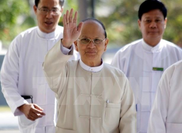 缅甸执政党强调党的路线方针没有改变 hinh anh 1