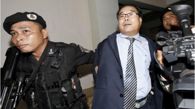 柬金边法院以篡改公文等罪名指控伪造越柬边界协议的反对党参议员 hinh anh 1