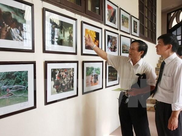 第22届越南北中部地区艺术摄影节正式开幕 hinh anh 1