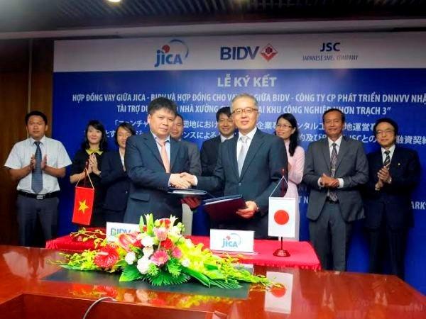 越南投发银行和日本国际协力机构向日本JSC公司提供优惠贷款 hinh anh 1