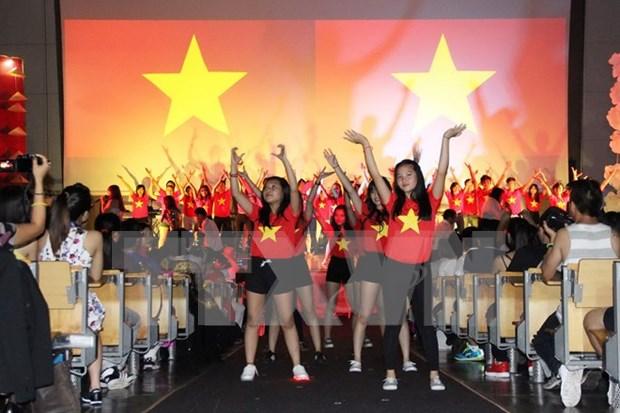 旅居欧洲越南青年大学生夏令营活动圆满成功 hinh anh 1