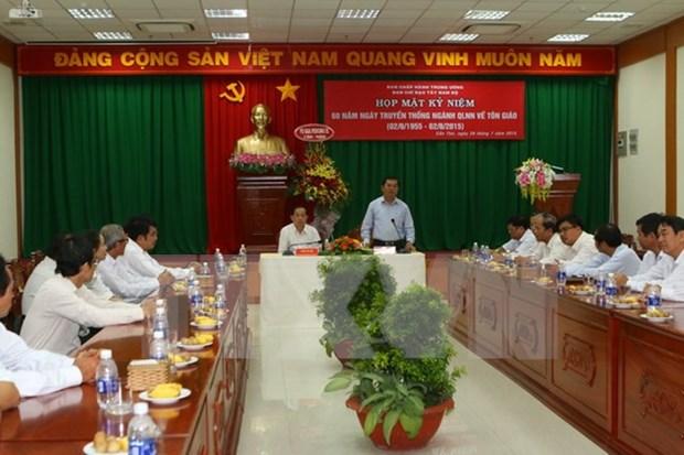 越南加大对高棉族同胞和宗教界人士宣传党和国家民族宗教政策 hinh anh 1