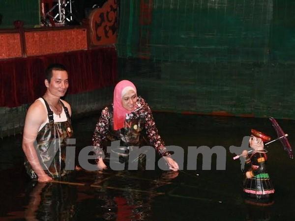 让越南水上木偶戏走近阿拉伯国家公众 hinh anh 1