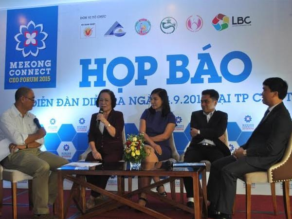2015年首次大湄公河对接论坛将于9月在芹苴市举行 hinh anh 1