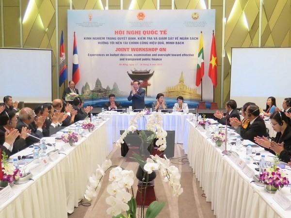 越老柬缅四国致力创建一个公开透明和高效的公共金融体制 hinh anh 1