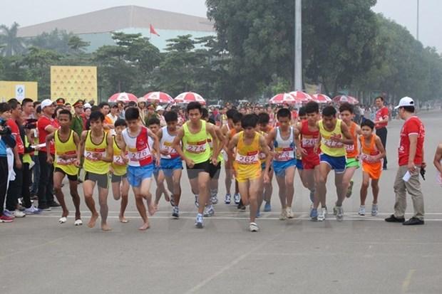 2015年越南国家青年田径锦标赛在河内举行 hinh anh 1