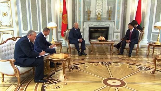 卢卡申科总统:白俄罗斯十分关注扩大对越合作 hinh anh 1