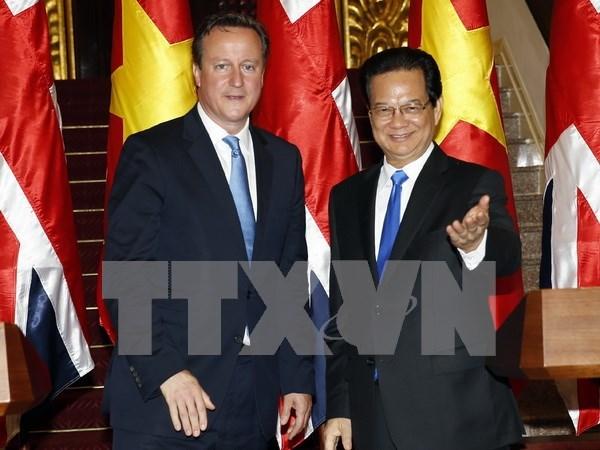 越南驻英国大使:越英两国关系正处于良好的发展时期 hinh anh 1