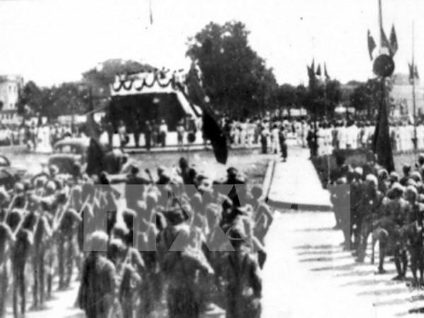 河内市举行系列活动庆祝八月革命暨九二国庆节70周年 hinh anh 1