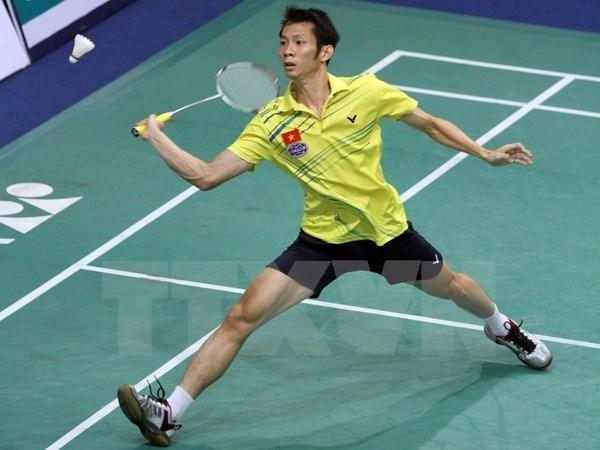 347名运动员参加2015越南国际羽毛球公开赛 hinh anh 1