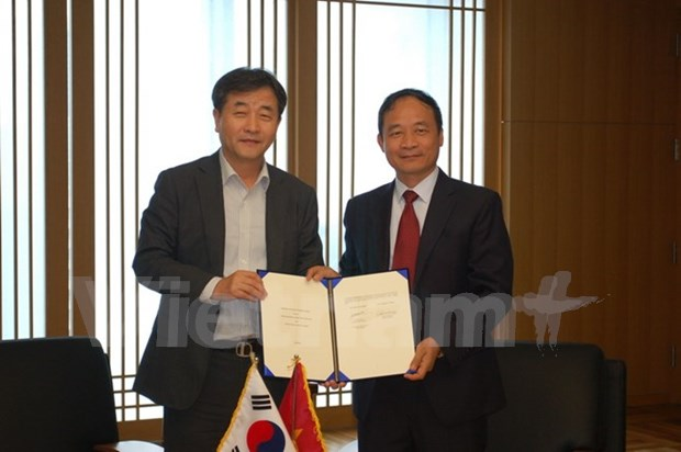 进一步加强越南通讯社与韩联社合作关系 hinh anh 1