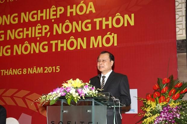 越南加速推进农业与农村工业化、现代化进程 hinh anh 1