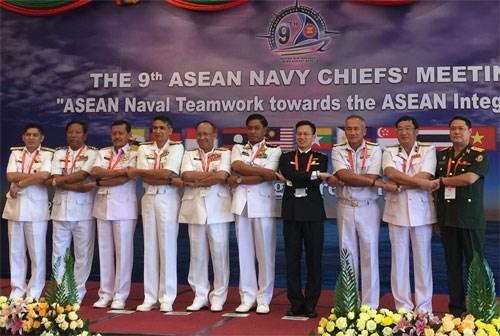 越南出席第九届东盟海军司令会议 hinh anh 1