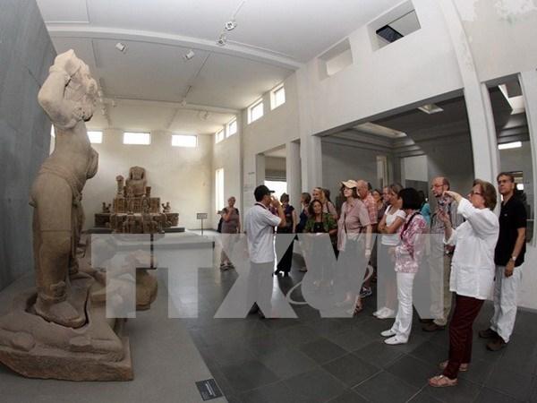 岘港市修缮占婆雕刻博物馆为2017年APEC领导人会议做准备 hinh anh 1