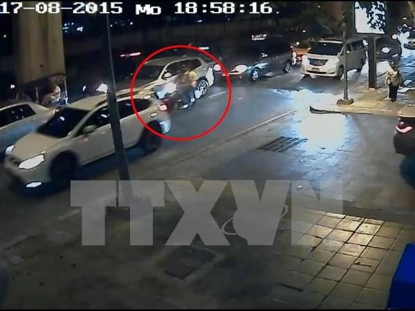 """泰国曼谷爆炸案:警方寻""""黑衣女子"""" hinh anh 1"""