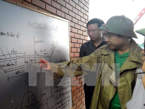 越南政府总理指示加紧做好广宁省煤矿难事故善后工作 hinh anh 1
