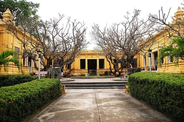 岘港市修缮占婆雕刻博物馆为2017年APEC领导人会议做准备 hinh anh 3