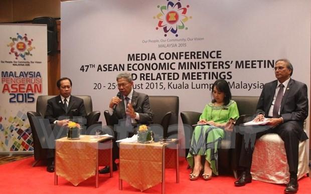 东盟经济部长会议完善建设经济共同体的措施 hinh anh 1