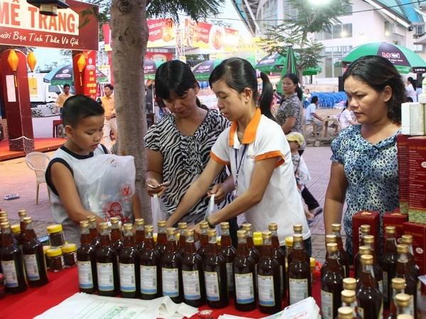 岘港市力争至2020年越南货市场份额提升到80%以上 hinh anh 1