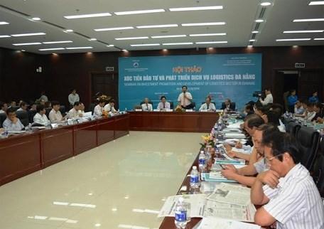 岘港市加大投资促进力度 发展物流服务 hinh anh 1