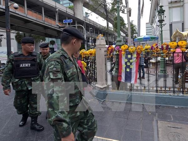 泰警方成功拆解曼谷主要干道附近发现的炸弹 hinh anh 1