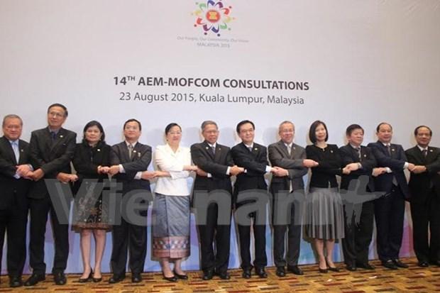 加强东盟与对话伙伴国之间的经济关系 hinh anh 1