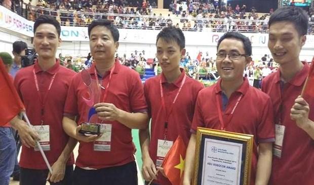 越南第五次勇夺亚太大学生机器人大赛冠军 hinh anh 1
