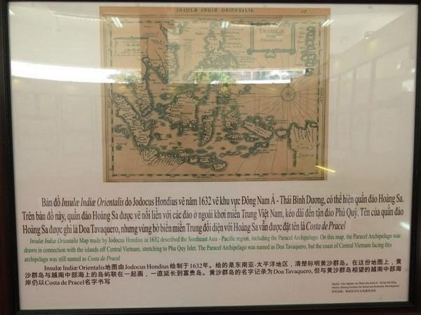 """""""黄沙长沙归属越南—历史证据和法律依据""""图片资料展在巴地头顿省开展 hinh anh 1"""